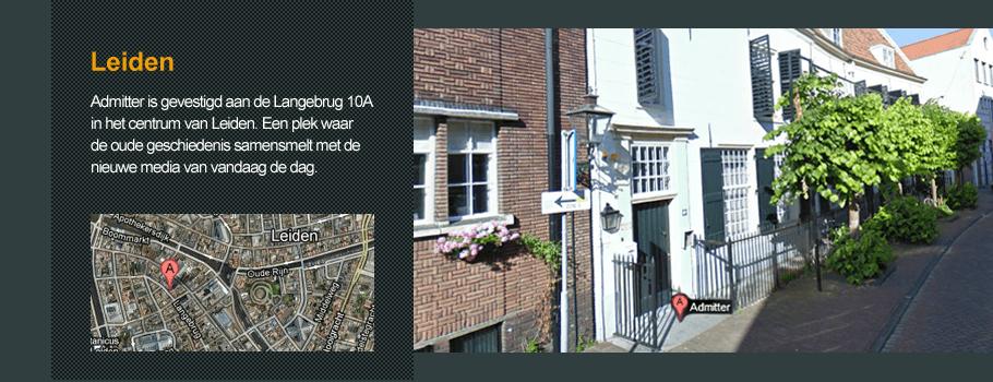 Admitter in Leiden