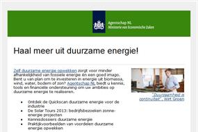 Agentschap NL   Duurzaam ondernemen