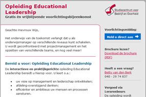 Euroforum SBO   Educational Leadership