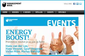 Managementboek.nl   Energy Boost event