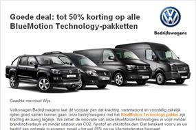 Volkswagen   Bedrijfswagens BlueMotion