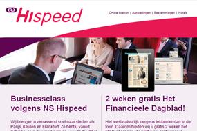 NS Hispeed   Ontdek NS Hispeed