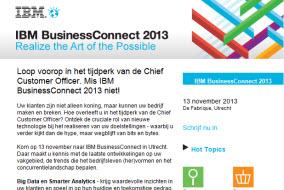 IBM   BusinessConnect 2013