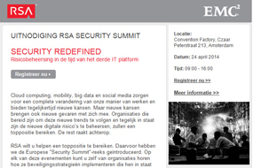 RSA   Security Summit 2014