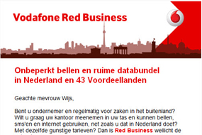 Vodafone   Red Business