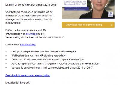 Raet | HR-Benchmark 2014-15