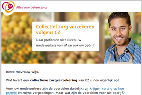CZ  | Collectieve zorgverzekering