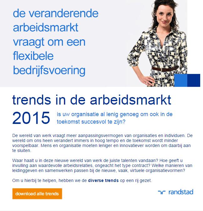 Randstad | Trends 2015