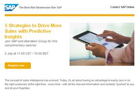 SAP | Webinar