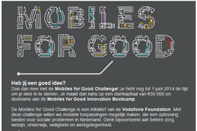 Vodafone | Mobiles for Good
