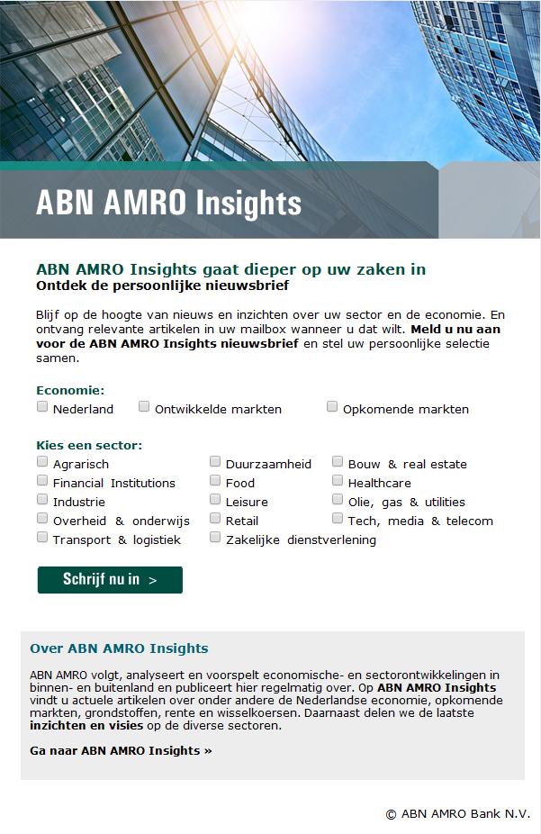 ABN AMRO   Insights nieuwsbrief
