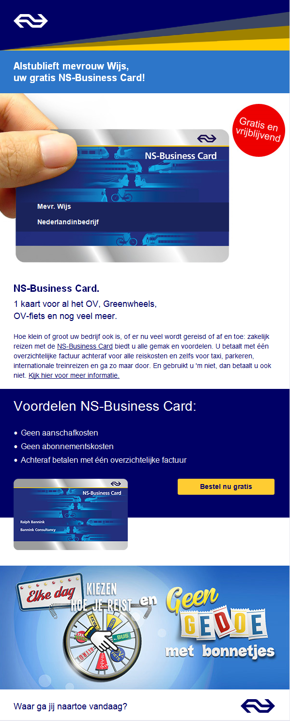 NS   Business Card