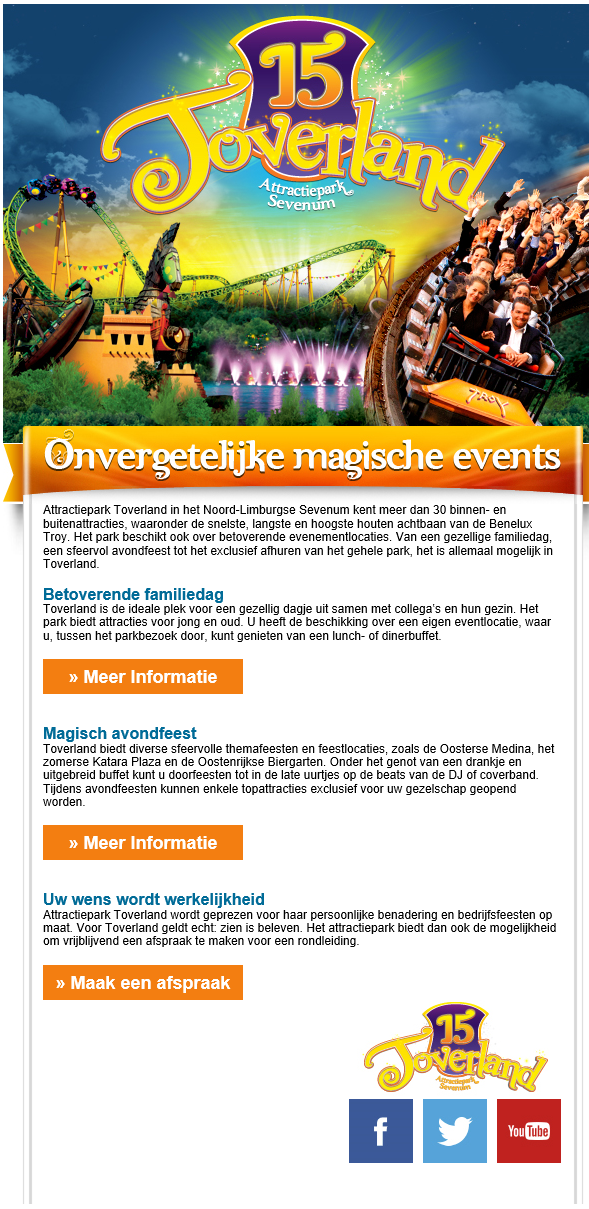 Toverland | Magische events