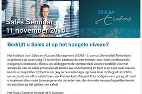 ISAM | Seminar