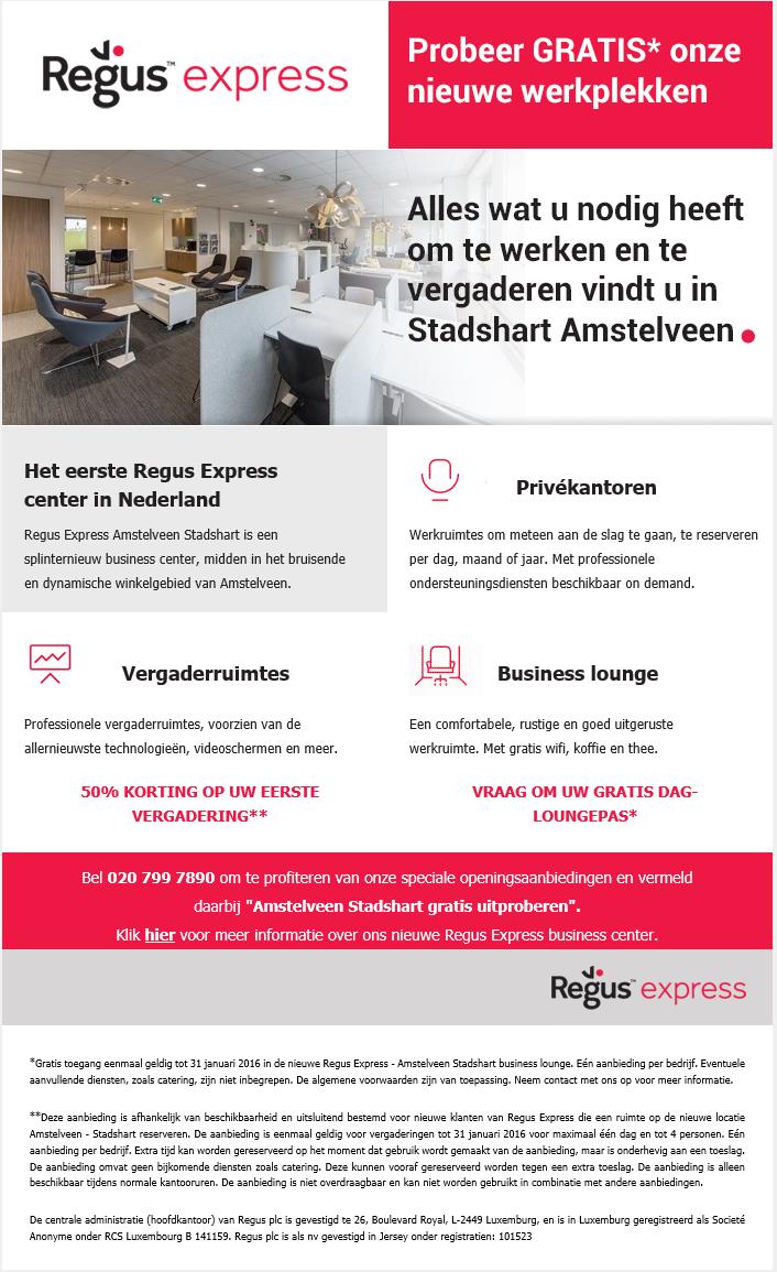 Regus Express | Amstelveen