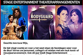 Stage Entertainment | Theaterarrangementen