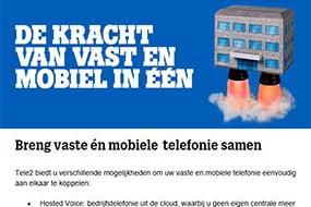 Tele2| Vast en Mobiel