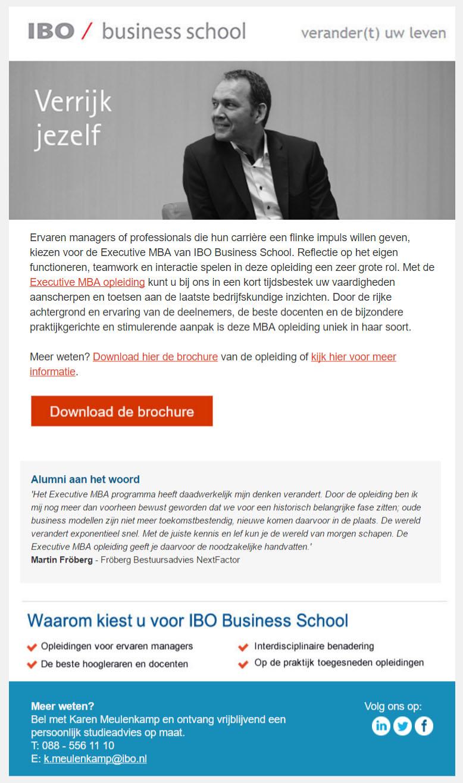 IBO | Executive MBA