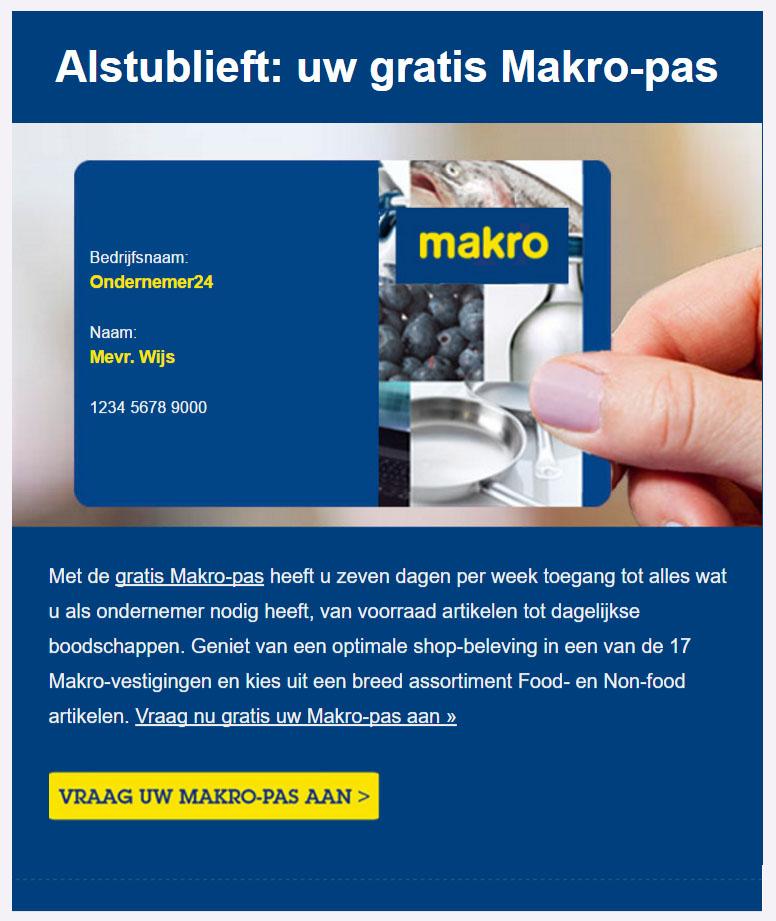 Makro | Makro Pas
