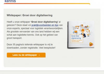 PostNL | Whitepaper 'Internationalisering'