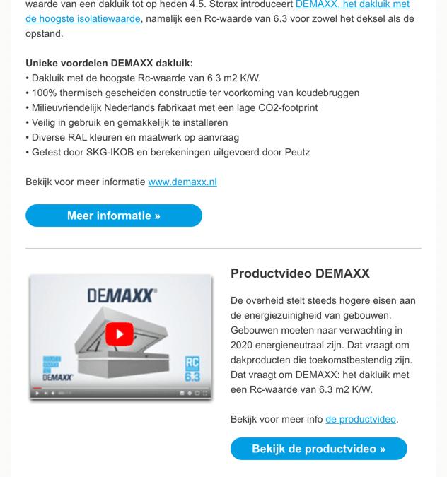 Storax | Demaxx dakluiken