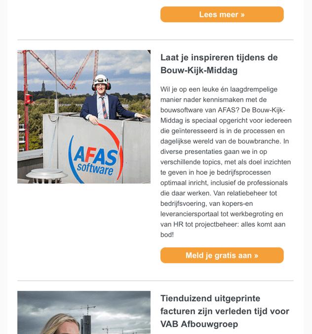 AFAS | Grip op bouwkosten