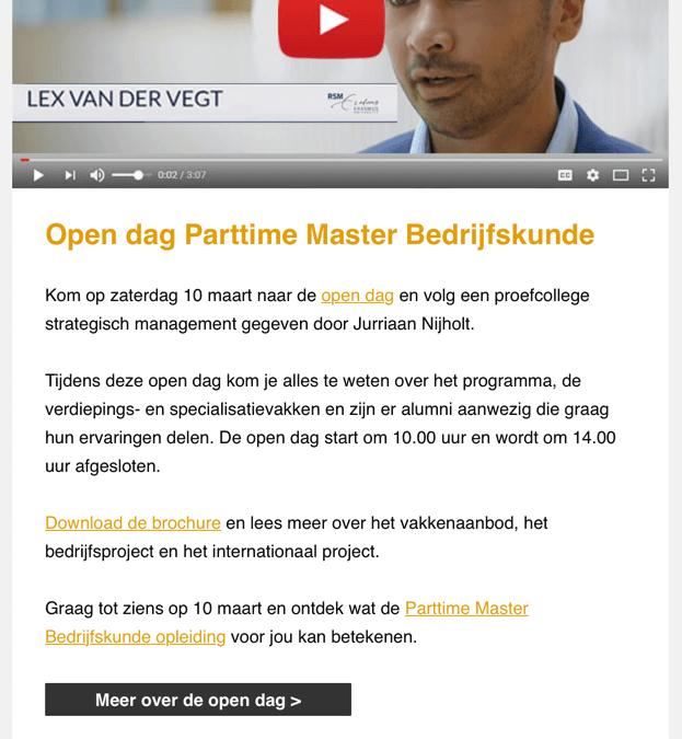RSM | Parttime Master Bedrijfskunde