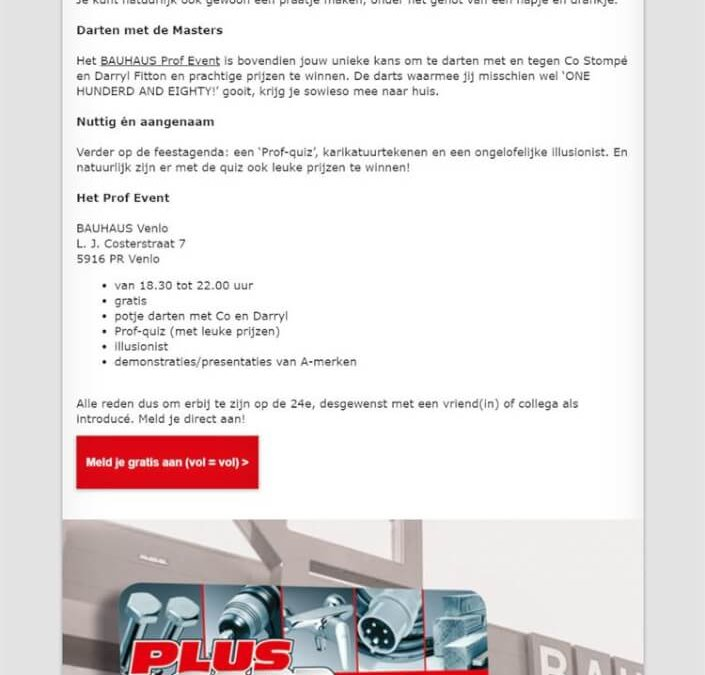 Bauhaus   Dart Event