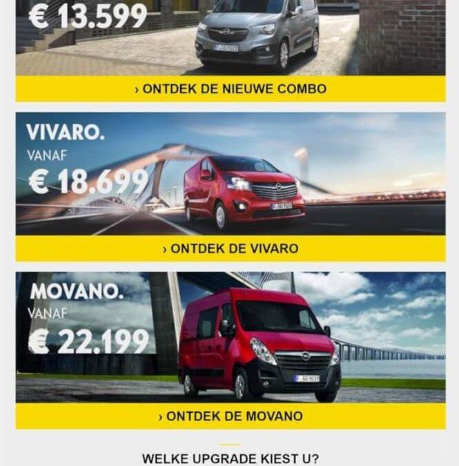 Opel | De Nieuwe Combo