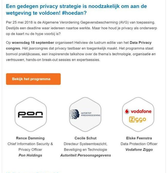 Data Privacy congres