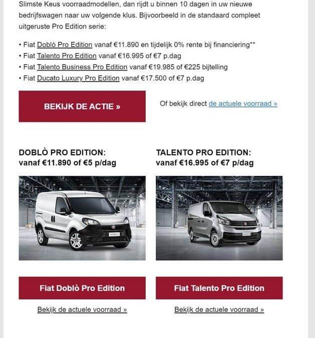 Fiat | Bedrijfswagens