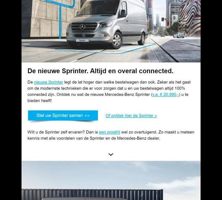 Mercedes-Benz | Nieuwe Sprinter