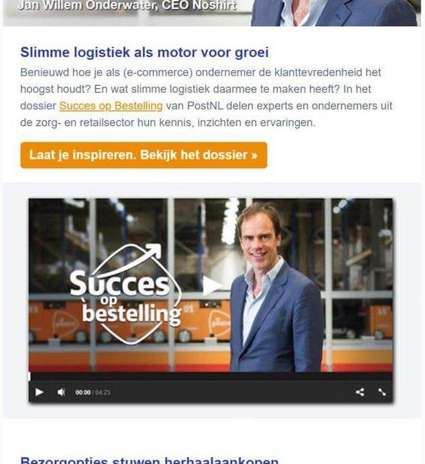 PostNL | Succes op bestelling