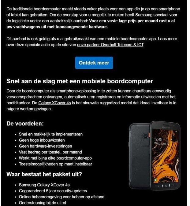 Samsung | Boordcomputer