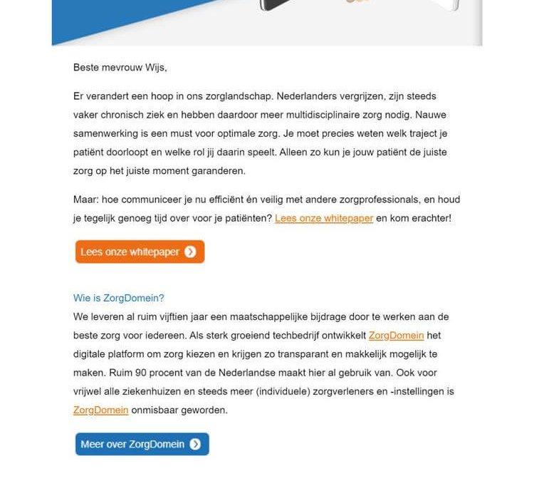 Zorgdomein | Whitepaper