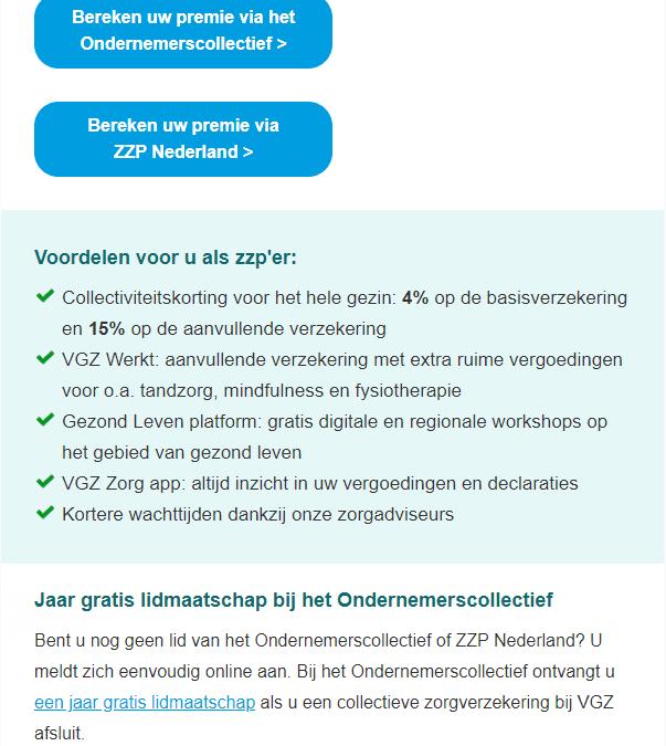VGZ | ZZP