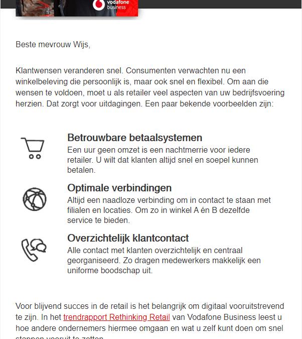 Vodafone | Retail